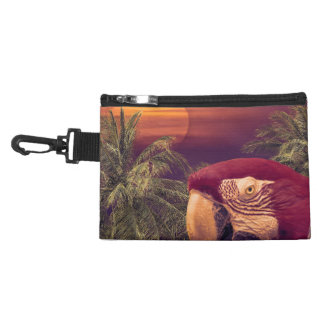 Tropical Style Collage Design Poster Accessory Bag