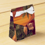Tropical Style Collage Design Poster Favor Box
