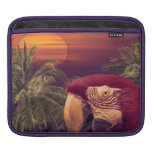 Tropical Style Collage Design Poster iPad Sleeve
