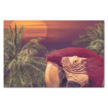 Tropical Style Collage Design Poster Tissue Paper
