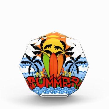 Beach Themed Tropical summer award