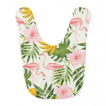 Tropical Summer Baby Bib