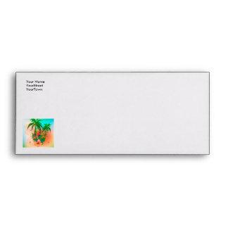 Tropical summer design envelopes