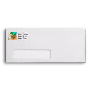 Tropical summer design envelope