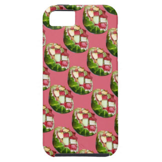 Tropical Summer Picnic Fruit Salad Pink Pattern iPhone 5 Covers