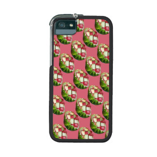 Tropical Summer Picnic Fruit Salad Pink Pattern Case For iPhone 5/5S