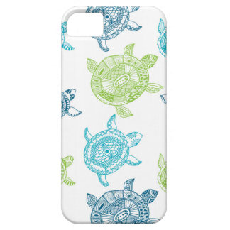 Tropical Summer Sea Turtles iPhone 5 5S iPhone SE/5/5s Case