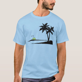 tropical summer sunset T-Shirt
