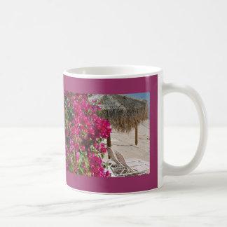 Tropical Summer Time Beach Classic White Coffee Mug