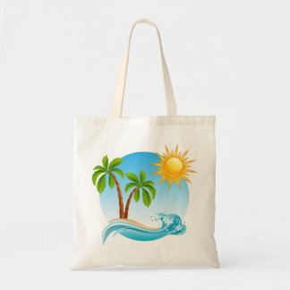 Tropical Summer Tote Bag
