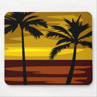 Tropical sundown Mousepad