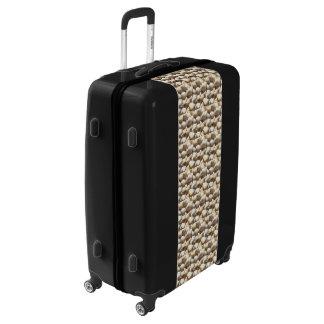 Tropical Sunny Sea Shells Luggage Suitcase UGOBAGS