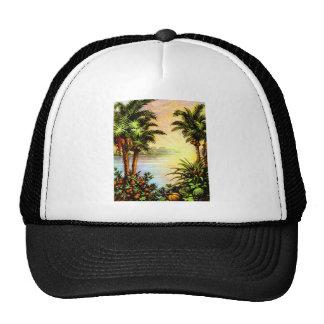 Tropical Sunrise Hats