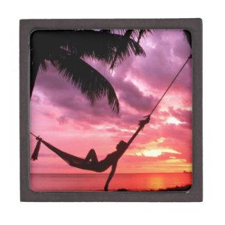 Tropical Sunrise In A Hammock Gift Box