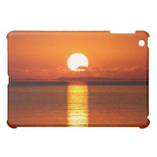 Tropical Sunrise in Orange iPad Mini Cover