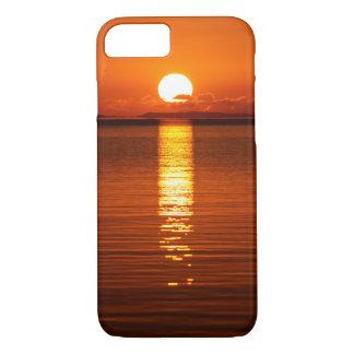 Tropical Sunrise in Orange iPhone 7 Case