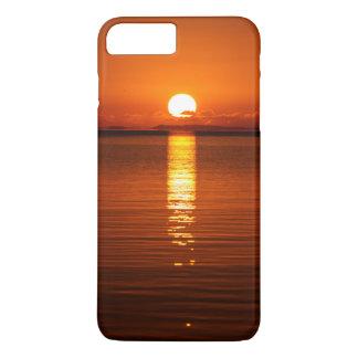 Tropical Sunrise in Orange iPhone 7 Plus Case