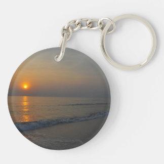 Tropical Sunrise Keychain