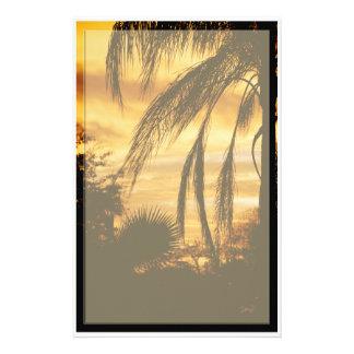 Tropical Sunrise stationary Stationery Design