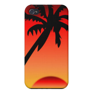 Tropical Sunset2 iPhone 4 Cover