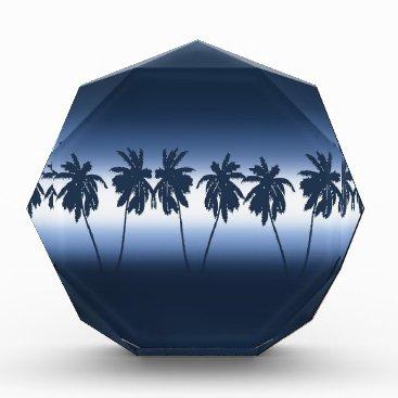 Beach Themed Tropical sunset acrylic award
