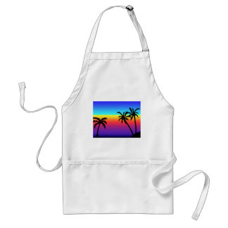 Tropical Sunset Apron
