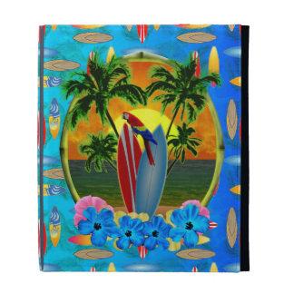 Tropical Sunset iPad Folio Case