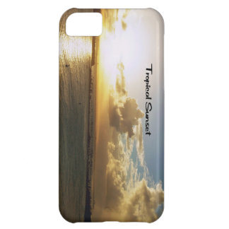 Tropical sunset case for iPhone 5C