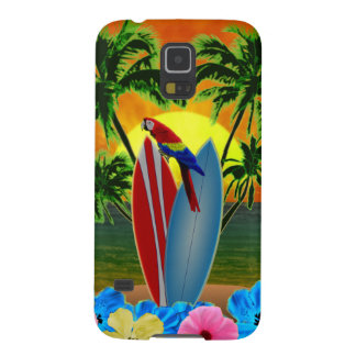 Tropical Sunset Case For Galaxy S5