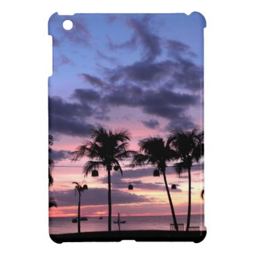 Beach Themed Tropical Sunset Case For The iPad Mini