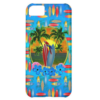Tropical Sunset Cover For iPhone 5C