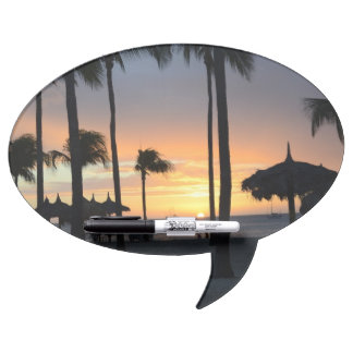 Tropical Sunset Dry Erase Whiteboard