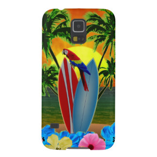 Tropical Sunset Galaxy S5 Cover
