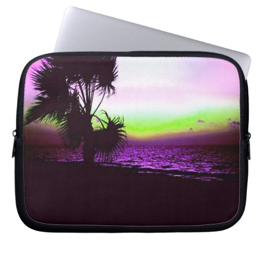 Tropical Sunset Laptop Sleeve