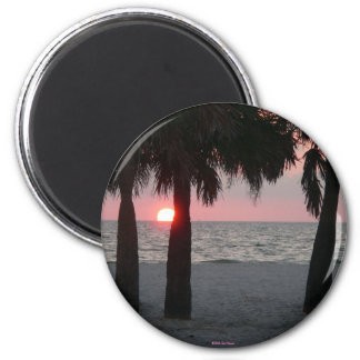 Tropical Sunset Magnet