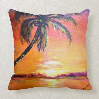 Tropical Sunset Pillow