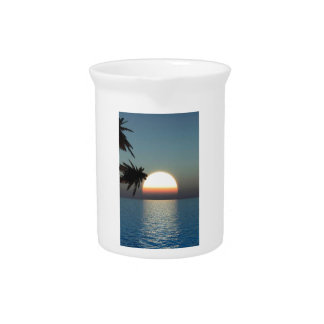 Tropical Sunset Pitcher