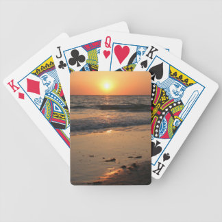 Tropical Sunset Playing Cards Bicycle Playing Cards