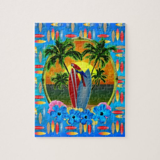 Tropical Sunset Puzzles