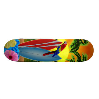 Tropical Sunset Skateboard Deck