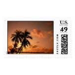 Tropical Sunset Stamps