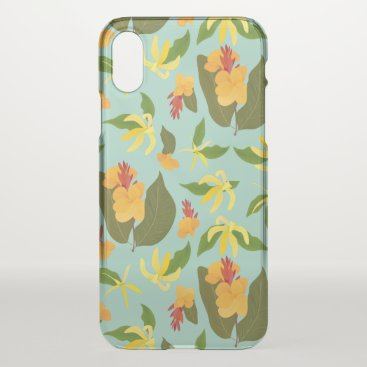 Tropical Sunset iPhone X Case