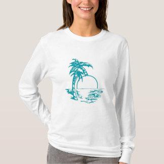 Tropical Sunset Wedding T-Shirt