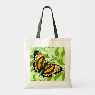 Tropical Sunshine Yellow Butterfly Tote Tote Bag