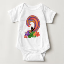 Tropical Surfer : Baby Bodysuit