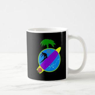 Tropical Surfer.png Coffee Mug