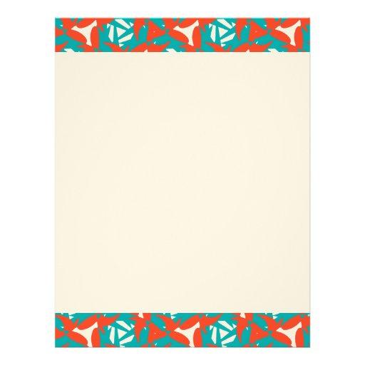 Tropical Surprise Design Personalized Letterhead