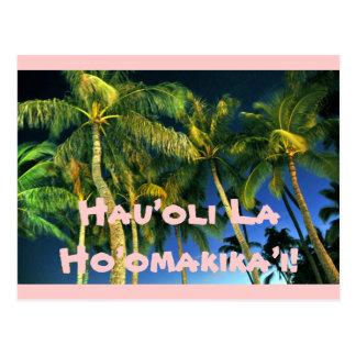 Tropical Thanksgiving Postcard