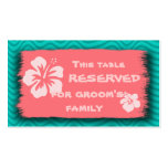Tropical Themed Business Size Cards Business Card