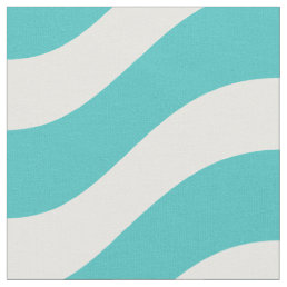 Tropical Tide Nautical Wave Pattern Fabric